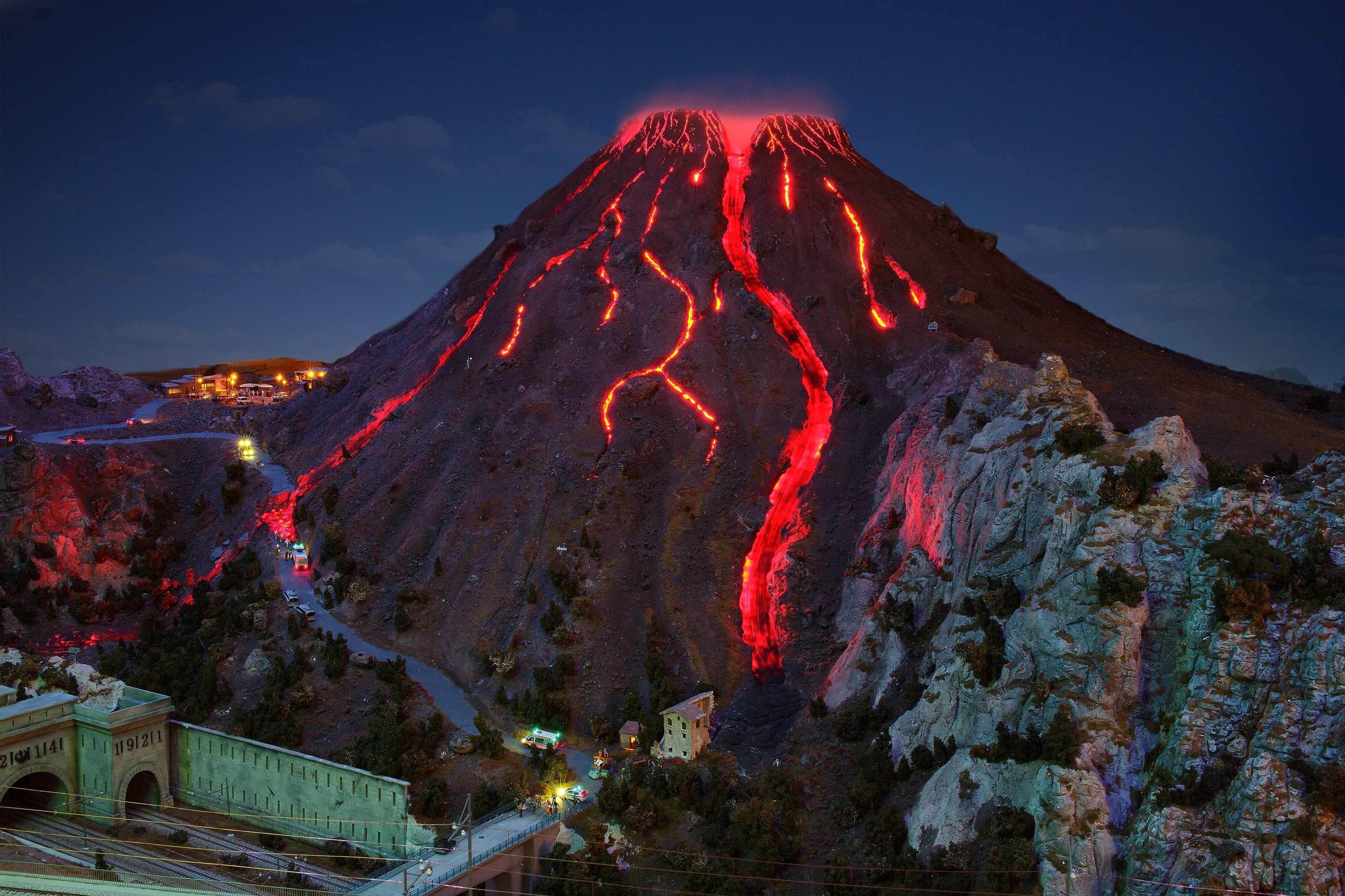 Vesuv Vulkan